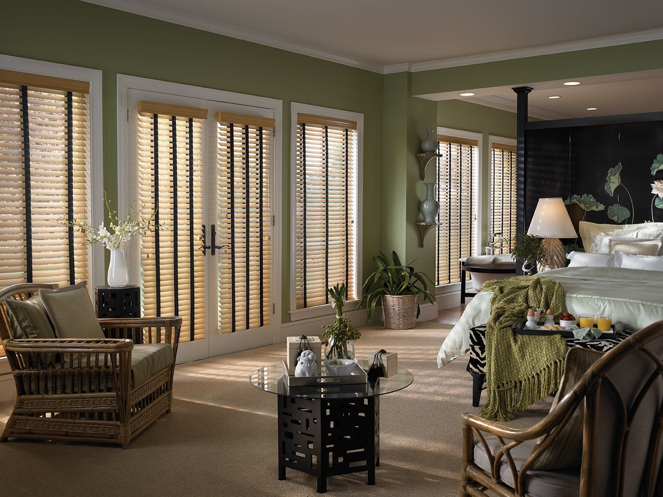 Faux Wood Blinds By Vertican Medicine Hat